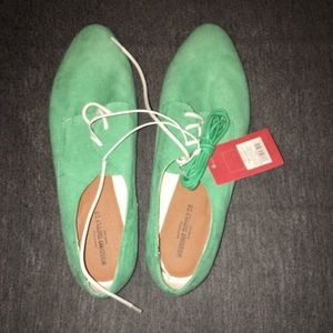 Blue/Green Loafers